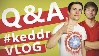 Galaxy S6 или iPhone 6? Razer или Steelseries? Проектор или телевизор? - Q&A - KeddrVLOG 2.0 (E15)