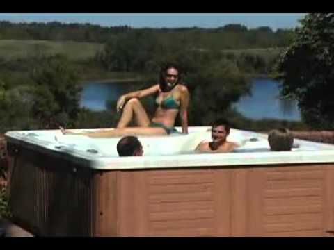 7 Seater Portable Hot-Tub Jacuzzi By Modern Tiles & Modern Sanitary Faisalabad.flv
