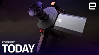 Kodak releases the first footage from its hybrid Super 8 camera | Engadget Today - ENGADGET