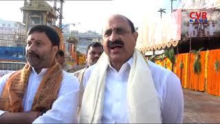 EX Minister Kamineni Srinivasa Rao Visits Tirumala Temple | CVR News - CVRNEWSOFFICIAL