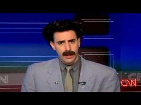 Borat Interview on American CNN