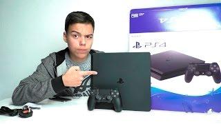 ОНА ВЕЛИКОЛЕПНА ?!!! - РАСПАКОВКА И ПЕРВОЕ ВПЕЧАТЛЕНИЕ Sony PlayStation 4 slim (ПС4)