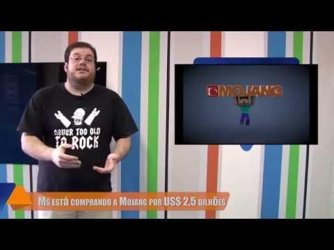 Hoje no TecMundo (15/09) - Microsoft compra Mojang, recursos do Windows 9 e app de US$ 1 mil