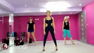 Видео уроки танцев – Go Go. Часть 2. [Школа Go-Go танцев Dance Paradise]