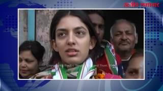 video : बठिंडा : मनप्रीत बादल के लिए बेटी ने किया प्रचार