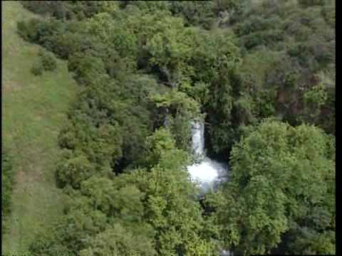 Banias in the Golan Heights: A birds eye view