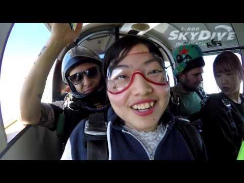Lan Yui Lin's Tandem skydive!