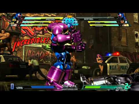 MvC3: DHC Trick 01 - Damage & Hit-Stun Scaling Reset!