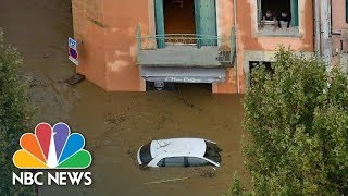 Flash Floods Rip Through Southwest France | NBC News - NBCNEWS