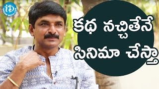 Prasad Murella About His Opinion in Choosing Movies || 24 Crafts - IDREAMMOVIES