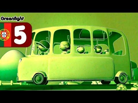 Ônibus escolar, Educação no Trânsito crianças - desenhos Greenlight