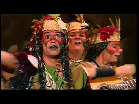 Sesión de Cuartos de final, la agrupación La selva madre actúa hoy en la modalidad de Comparsas.