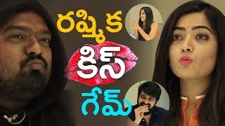 Watch Rashmika Mandanna Kiss Table from 1 to 10 ll The Soup Game ll Chalo movie team Game interview - IGTELUGU
