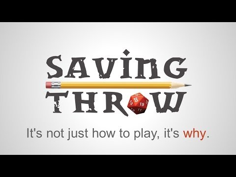 The Saving Throw Kickstarter