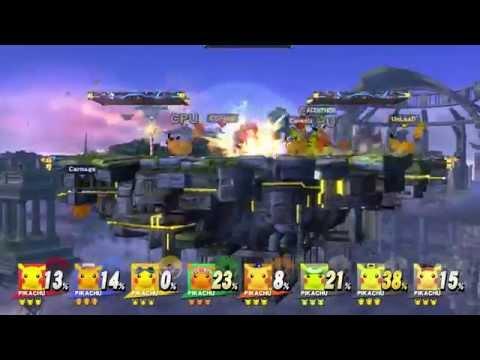 Cerealkillerz plays Super Smash Bros. Wii U Gewinnspiel Preview (HD) 1080p