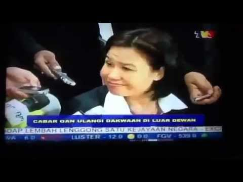 Betty Chew (Isteri Lim Guan Eng) KANTOI pada Sidang DUN Melaka ( #Malaysia #pakatan #umno )