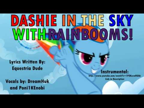 Dashie in the Sky with Rainbooms (Lucy in the Sky with Diamonds