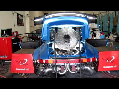 Bisimoto Porsche 911 Twin Turbo: low boost tuning