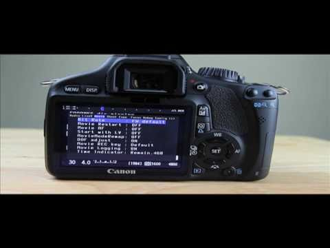 MAGIC LANTERN 1.0.9 HACK INSTALL AND HOW TO UPDATE WITH A MAC FOR CANON T2I OR 550D