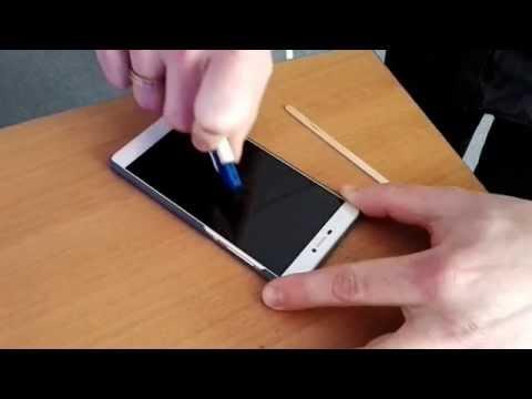 Huawei P8 Display Scratch Test by huaweiblog.de