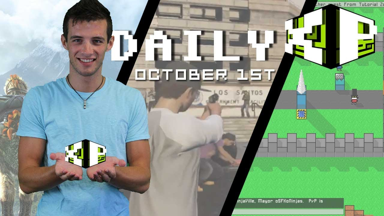 Grand Theft Auto Online, 8Bit MMO, Warface and more! | The Daily XP October 1st