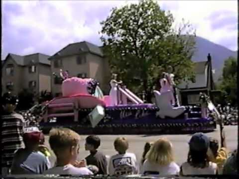 Provo Utah Freedom Festival: Fourth of July Parade, 1995