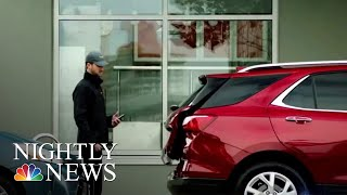 Amazon Introduces In-Car Delivery Service   NBC Nightly News - NBCNEWS