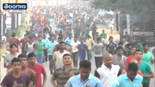 5K Run Conducted In Hanmakonda On The Eve Of Police Commemoration Week - ETV2INDIA