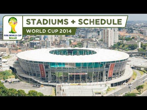 Wszystkie stadiony mistrzostw świata w Brazylii