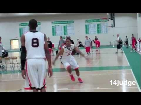 Jabari Parker scores 25 - Mac Irvin Fire AAU at D1-Elite Baylor Youth Tournament Chicago basketball