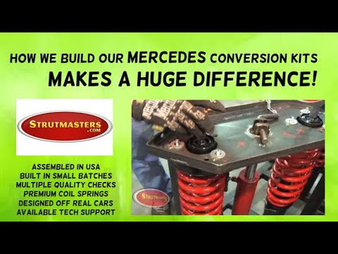 1999-2006 Mercedes Benz S430 Rear Air Suspension Build