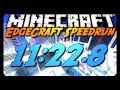 Minecraft Parkour | EdgeCraft Speedrun | 11:22.8