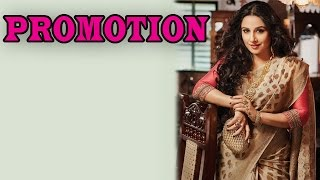 Vidya Balan promotes traditional sarees | Bollywood News