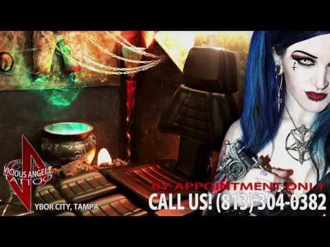 Vicious Angelz Tattoo, Ybor City - Shop Tour & Features