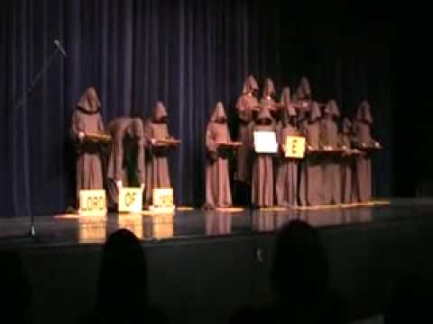 The Silent Monks Sing Halleluiah