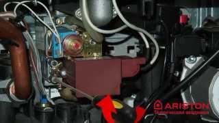Газовый котел Ariston  | Регулировка давления газа | Лемакс Алматы