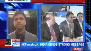 Pakistan raises farce in UK - TIMESNOWONLINE