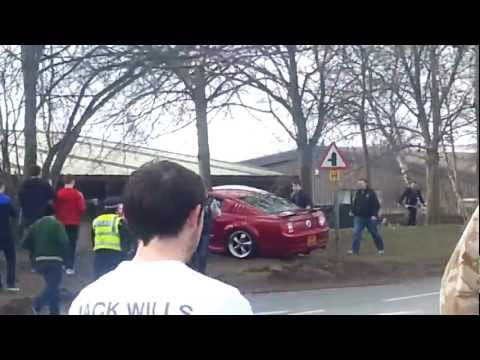 Ford Mustang Crash