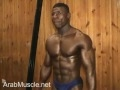 Incredible 8 pack abs- Saudi Arabian Bodybuilder.flv