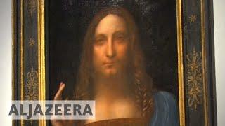 Leonardo da Vinci artwork makes auction history at Christie's - ALJAZEERAENGLISH