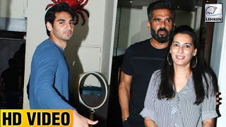 Sunil Shetty's Wife Mana Shetty's Birthday Bash FULL VIDEO | LehrenTV