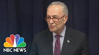 Chuck Schumer: It's 'Imperative' Mueller Report Be Made Public | NBC News - NBCNEWS