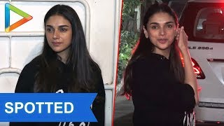 Aditi Rao Hydari attend screening of Tamil Film Sarvam Thaala Mayam - HUNGAMA