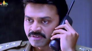 Gharshana Movie Scenes | Venkatesh Warning to Panda | Telugu Movie Scenes | Sri Balaji Video - SRIBALAJIMOVIES