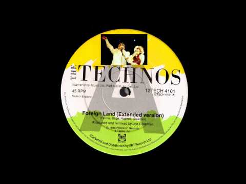 The Technos - Foreign Land (Rare 1985 Joe Glasman Remix)