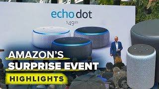 Amazon's surprise Echo event highlights: New Echo's, Fire TV DVR and more - CNETTV