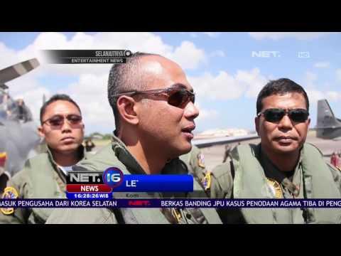 4 Super Tucano Sisir Selat Lombok NET16