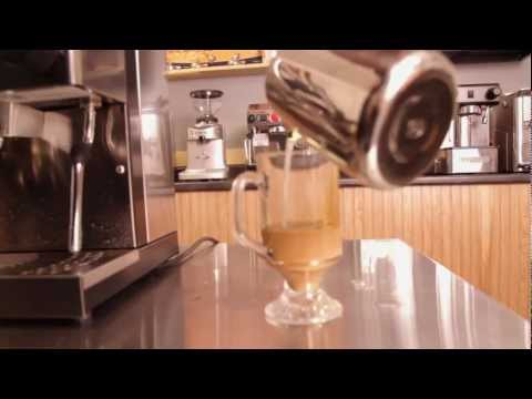 Mark shows how to Make a latte on the Rancilio Silvia Espresso Machine