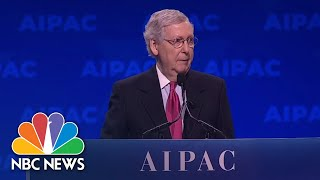 It's Not About The Benjamins:' Netanyahu, McConnell Respond To Omar At AIPAC | NBC News - NBCNEWS