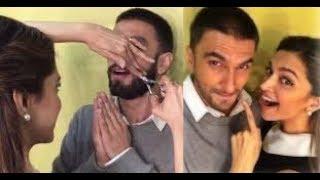 Deepika Padukone After Marriage Cut Mustache of Ranveer Singh - Viral Video Truth - ITVNEWSINDIA